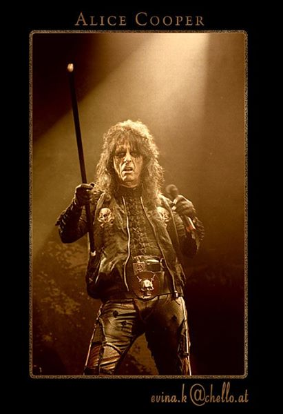 Alice Cooper - Photo Evina Schmidova